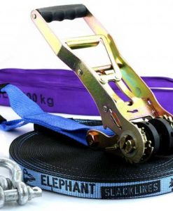 25-meter-Elephant-Slackline-Blue-Wing-25-mm-webbing-new-zealand-zoom