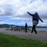Boat-cafe-waterfront wellington-first-steps-on-slacklines