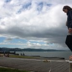 Boat-cafe-waterfront wellington-ready-to-go-on-the-slackline