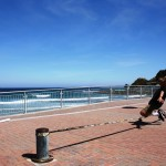 Connar-balancing-slacklining-beach-dunedin