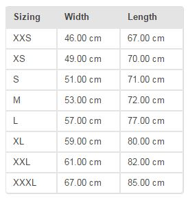 Slacklife-new-zealand-slacklineshop-Hoodie-size-chart
