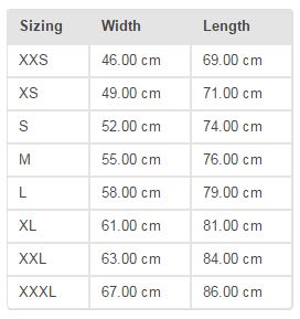 Slacklife-new-zealand-slacklineshop-Sweatshirt-size-chart