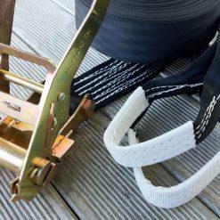 Slackline-Set-15-meter-Jumpline-all-black-detail-slings