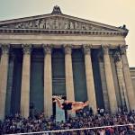 Slackline World Cup Munich Globetrotter Flying Superman 2015