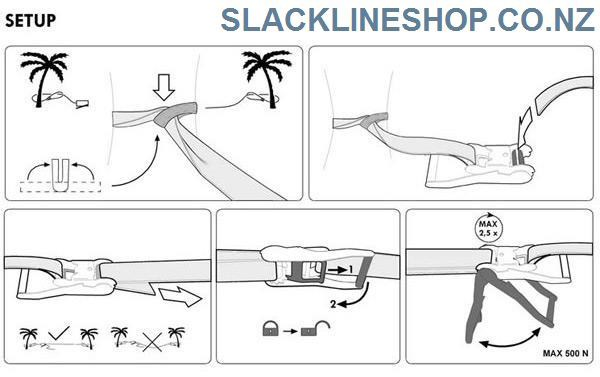 how-to-setup-ratchet-slackline-set-slacklineshop-new-zealand