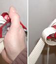 Gibbon line lock how to setup 25mm webbing