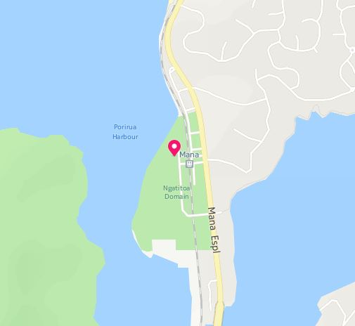 location-map-slackline-park-porirua-ngatitoa-domain-new-zealand