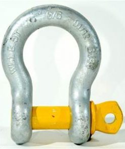slackline-bow-shackle-dull-steel-yellow-pin