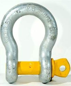 slackline-bow-shackle-dull-steel-yellow-pin