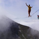 slackline-highline-world-record-cable-cars-alps-mountain-longliner-new-zealand