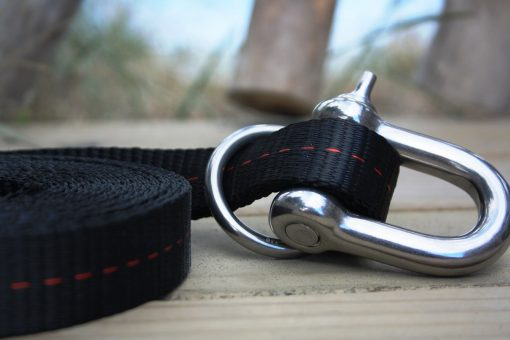 slackline line locker shackle