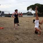 slackline-yoga-sumner-beach-christchurch