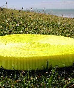 slacklineshop-25mm-tubular-webbing-fluro-yellow