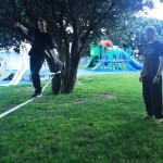 slacklining-first-steps