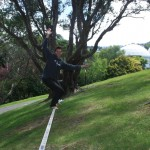 surfing-the-slackline-botanic-garden-wellington