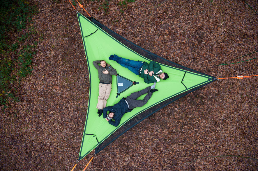 tentsile-hammock-tree-tent-3-person-new-zealand & Triple Slackline Hammock - Slackline Shop NZ