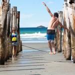 walking-slackline-nz-beach